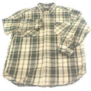 St Johns Bay Thick Heavy Chamois Flannel Shirt LT